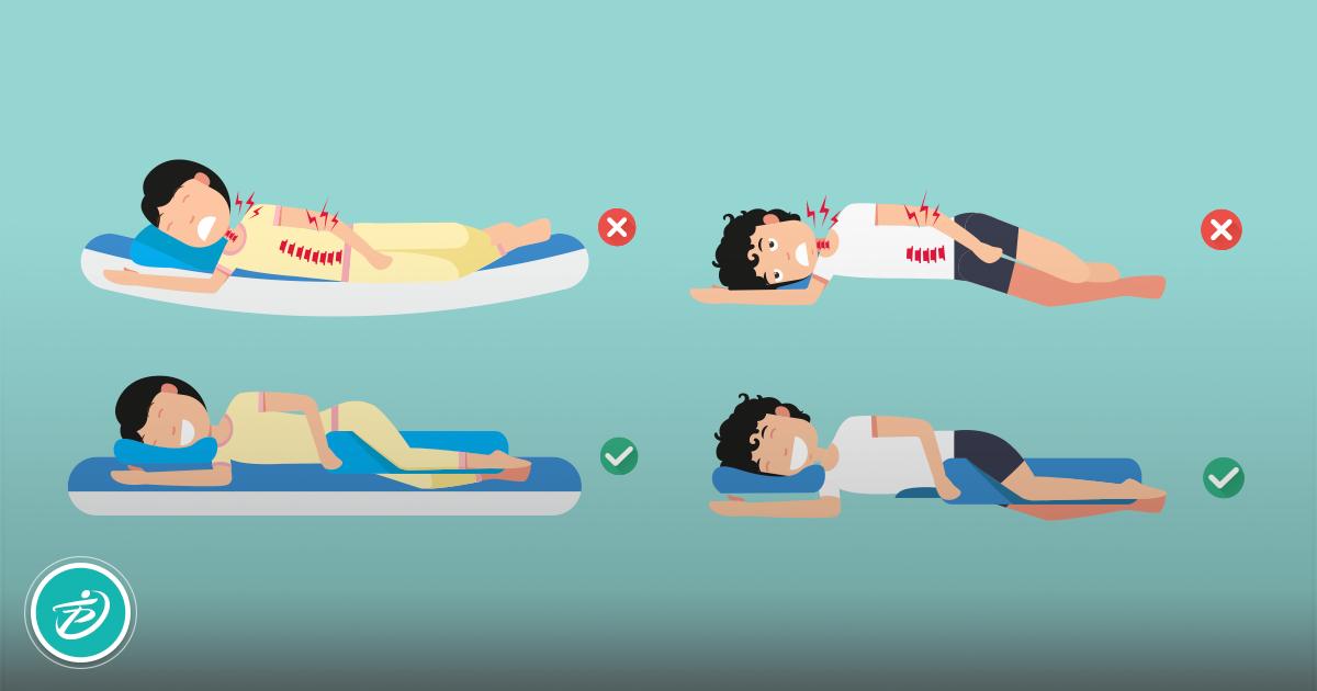 Qual é a melhor posição na hora de dormir?